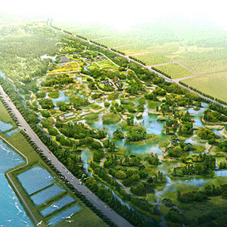 Services Include Planning Of Urban Green Space System Scenic Area And Design Park Square Residential Landscape